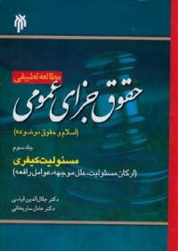 مطالعه تطبیقی حقوق جزای عمومی جلد سوم