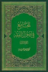 الجامع فی اصول الفقه - 2 جلدی